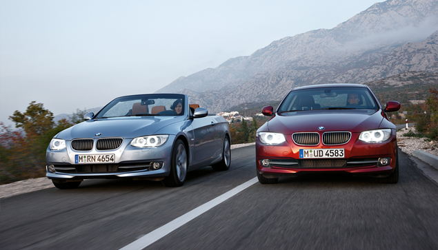 BMW reveals the new 2010 3 Series Coupé and Convertible