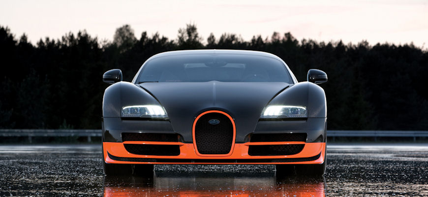 Bugatti's new Veyron Super Sport sets world record