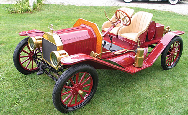 Hidden Treasures: 1912 Model T Speedster
