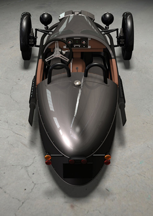 The 2011 Morgan Three Wheeler. However the feeling of freedom and contact