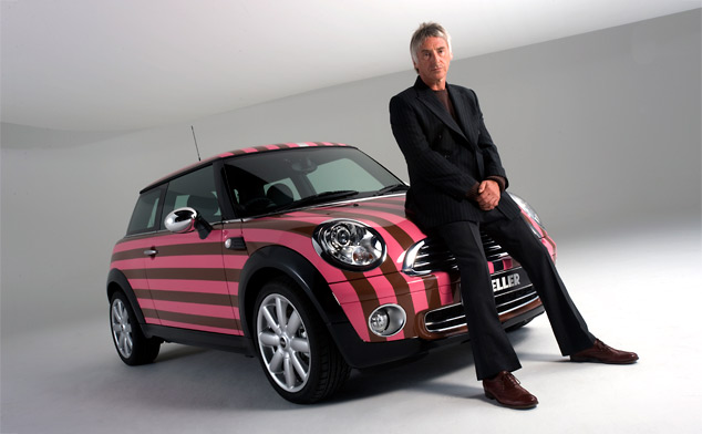 Paul Weller designed MINI goes on sale in charity auction