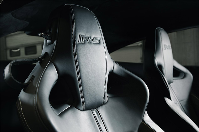 New bucketed seats exclusive to the XKR-S