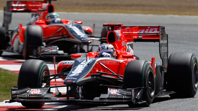 Marussia Virgin Racing 2011 car