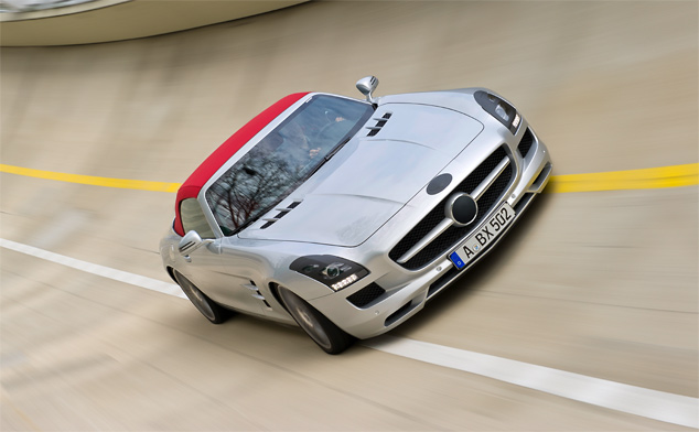 Mercedes-Benz SLS AMG Roadster undergoes final testing