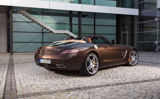 SLSAMG roadster banner Mercs SLS AMG receives adaptive damping and ride control upgrade