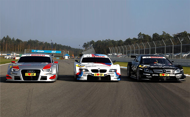 The 2012 DTM contenders come out to play at Hockenheim (w/video)