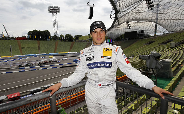 Bruno Spengler switches from AMG Mercedes to drive for BMW in the 2012 DTM series
