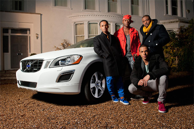 JLS with the Volvo XC60