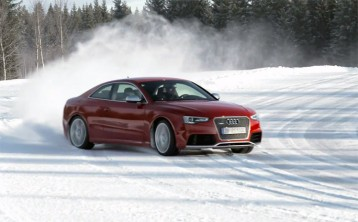 Video: Audi's new generation RS 5 gets lairy..