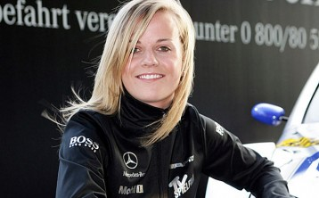 Susie Wolff (nee Stoddart) joins Williams F1 as its development driver