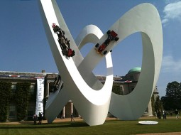 Lotus infinityloop goodwood 255x190 Lotus featured by Infinity Loop sculpture at Goodwood    but are they in a Death Spiral?