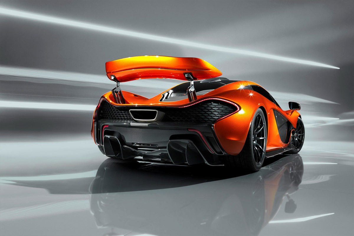 McLaren P1 Concept G101 McLaren P1 takes to the track (w/VIDEO)