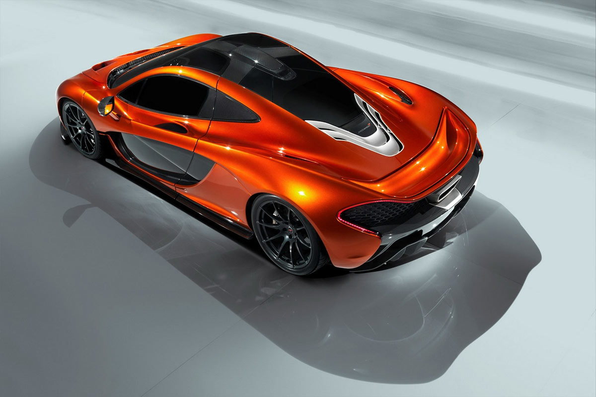 McLaren P1 Concept G111 McLaren P1 takes to the track (w/VIDEO)