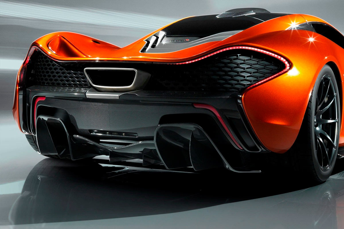 McLaren P1 Concept G41 McLaren P1 takes to the track (w/VIDEO)