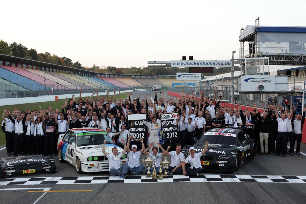 BMW DTM Spengler Champion Team G1 Clean sweep for BMW at DTM Hockenheim Finale (w/VIDEO)