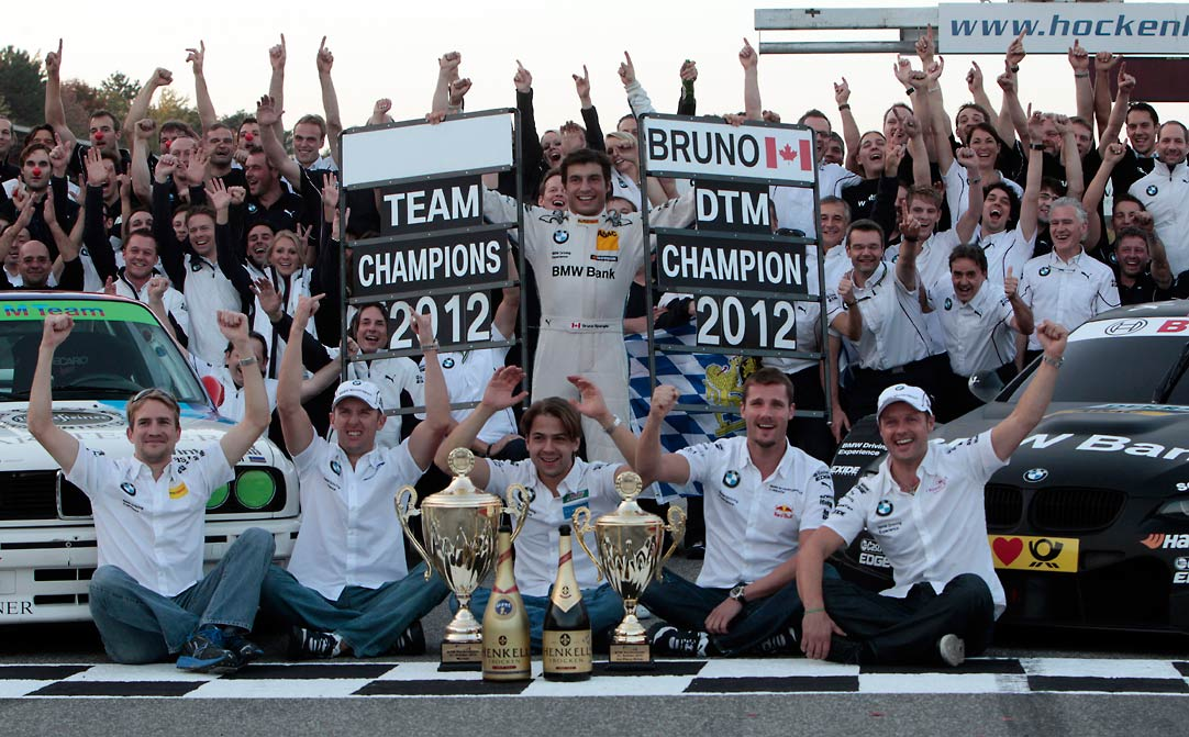BMW DTM Spengler Champion Team Clean sweep for BMW at DTM Hockenheim Finale (w/VIDEO)