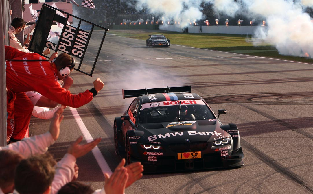 BMW DTM Spengler Champion Clean sweep for BMW at DTM Hockenheim Finale (w/VIDEO)