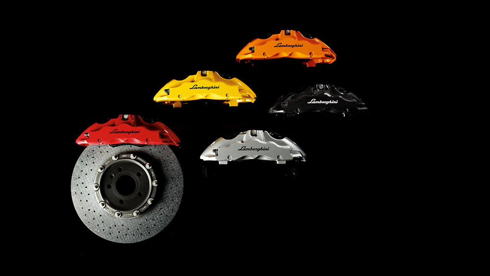 Accessori Originali Lamborghini brakes Accessori Originali: For when your Lamborghini isnt quite special enough..