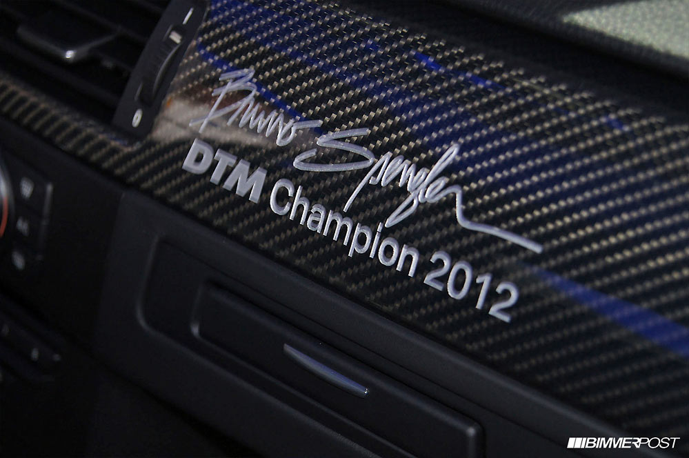 BMW M3 DTM Champion Edition G9 BMW celebrates its touring car success with the M3 DTM Champion Edition