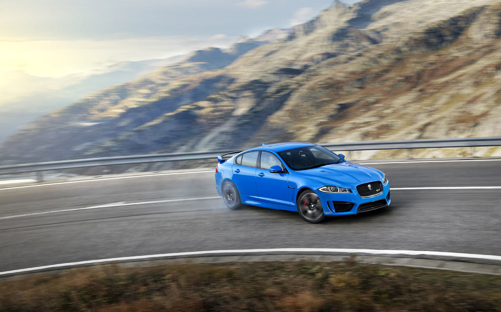 Jaguar XFR S Official G2 The hills are alive with the sound of.. XFR S (w/VIDEO)