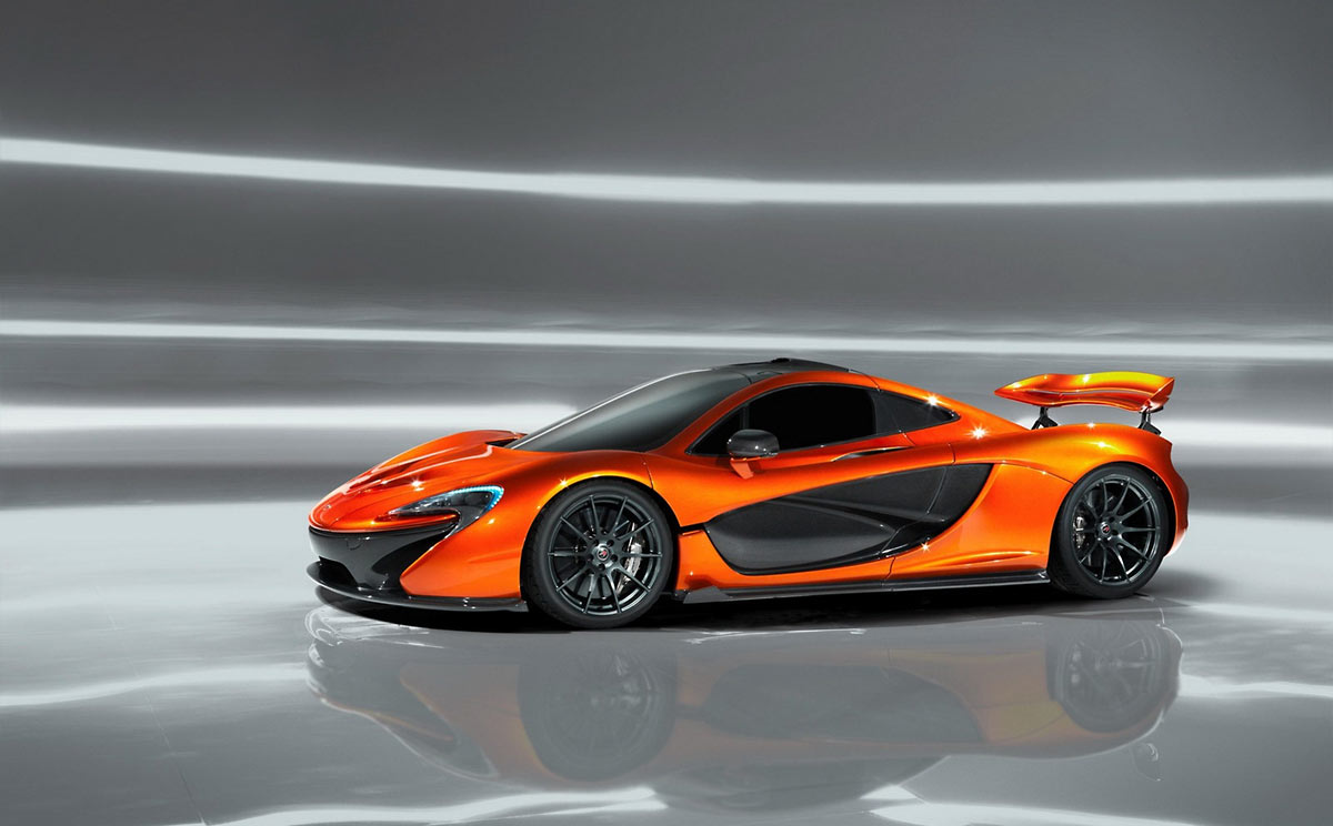 McLaren P1 Concept G13 McLaren P1 takes to the track (w/VIDEO)