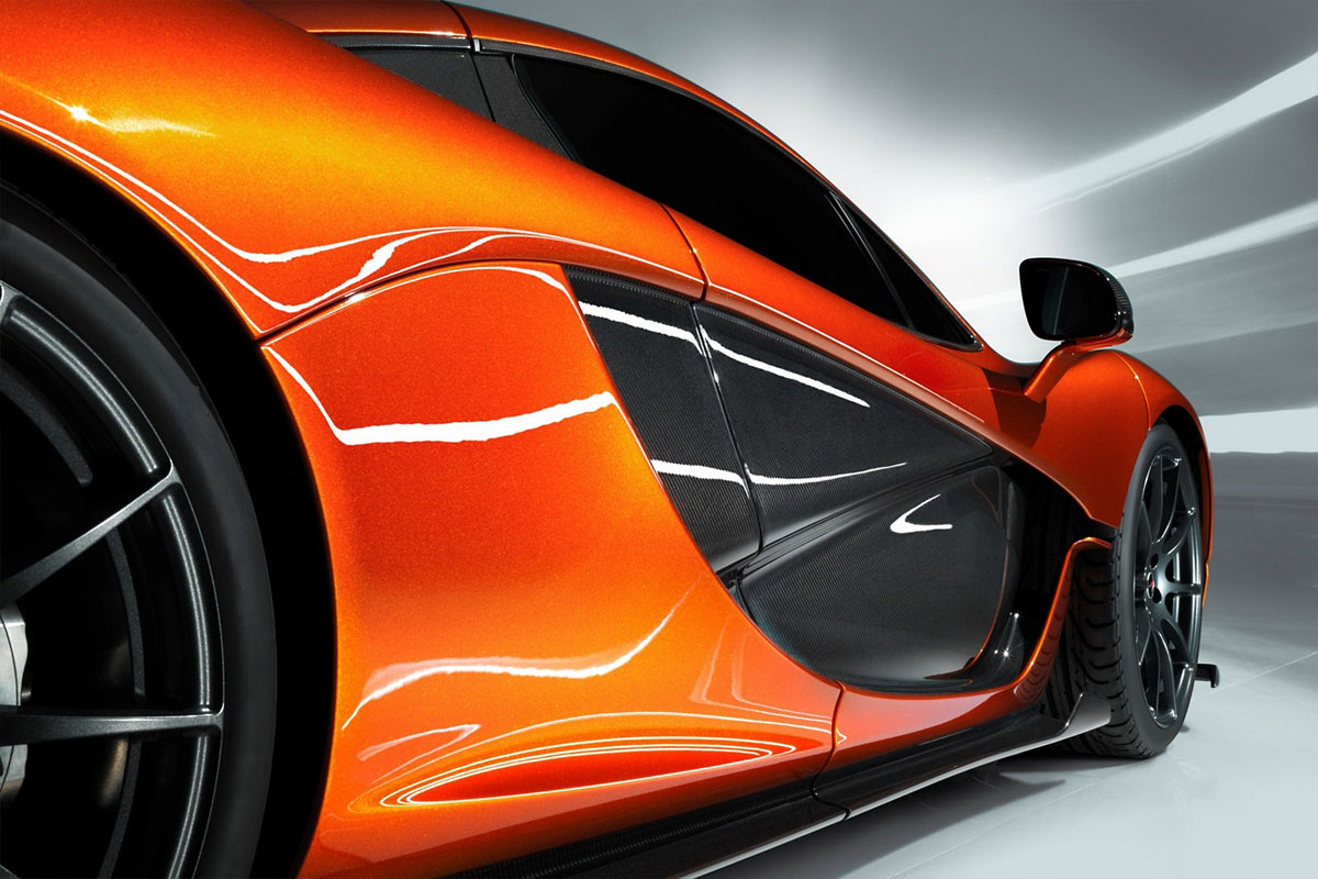 McLaren P1 Concept G2 McLaren P1 takes to the track (w/VIDEO)