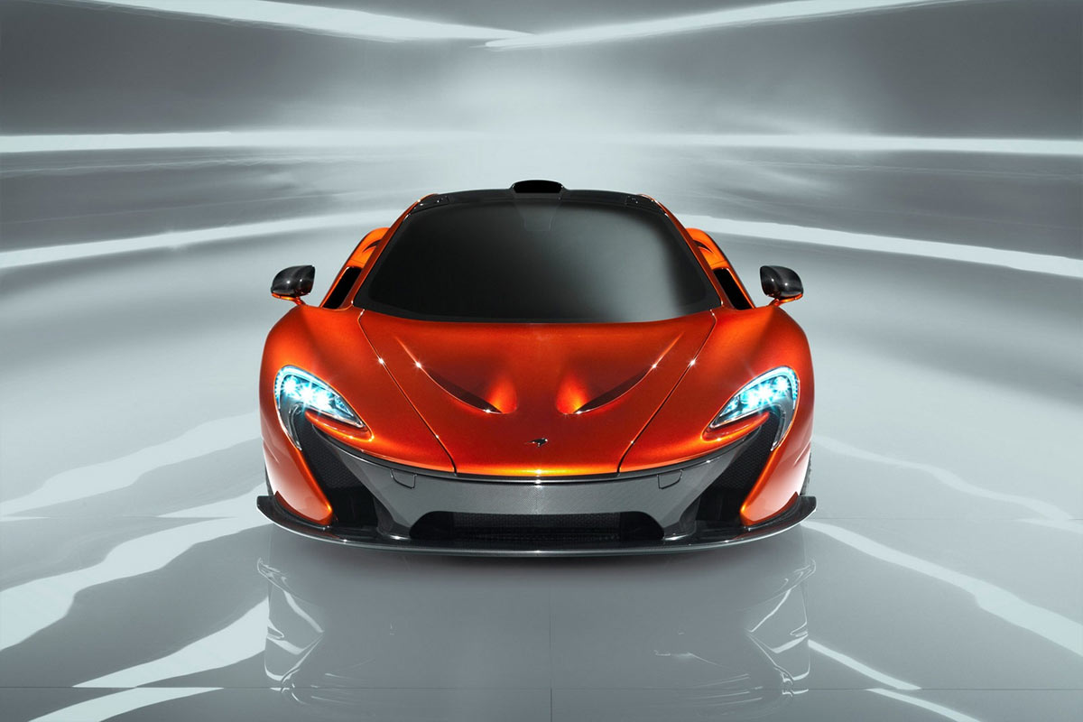 McLaren P1 Concept G8 McLaren P1 takes to the track (w/VIDEO)