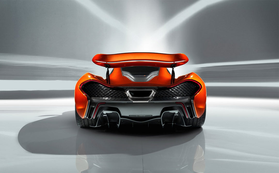 McLaren P1 Concept McLaren P1 takes to the track (w/VIDEO)