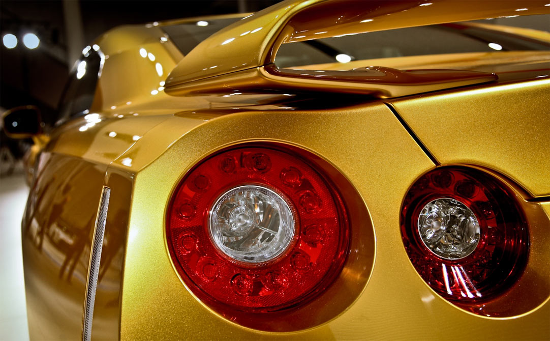 Usain Bolt's Gold Nissan GT-R to be auctioned on November 22nd