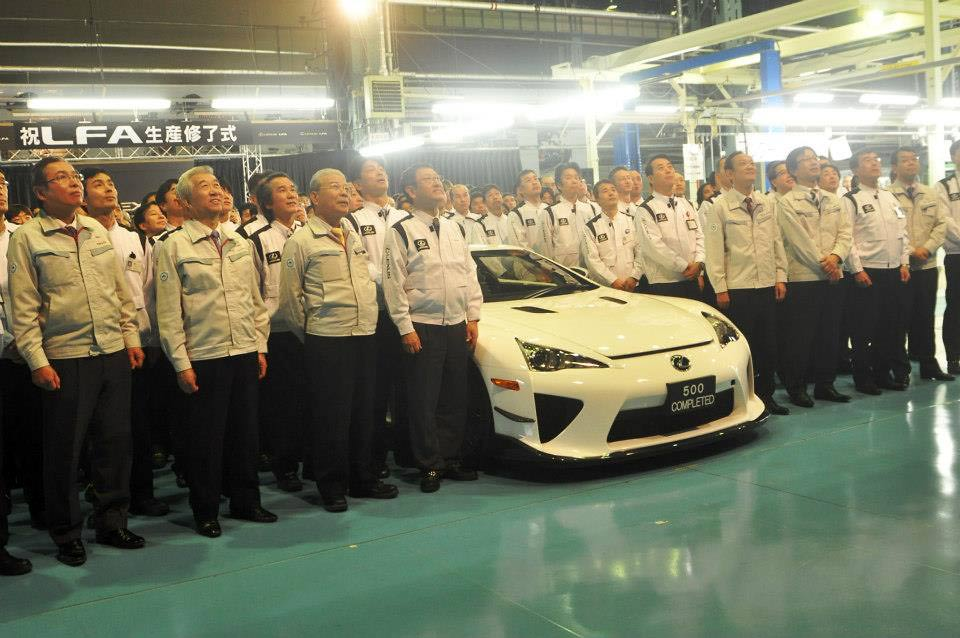 Lexus LFA Endof Production G3 Lexus LFA bows out of production, but when will it return? (w/VIDEO)