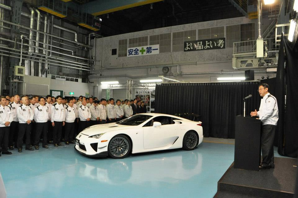 Lexus LFA Endof Production G5 Lexus LFA bows out of production, but when will it return? (w/VIDEO)