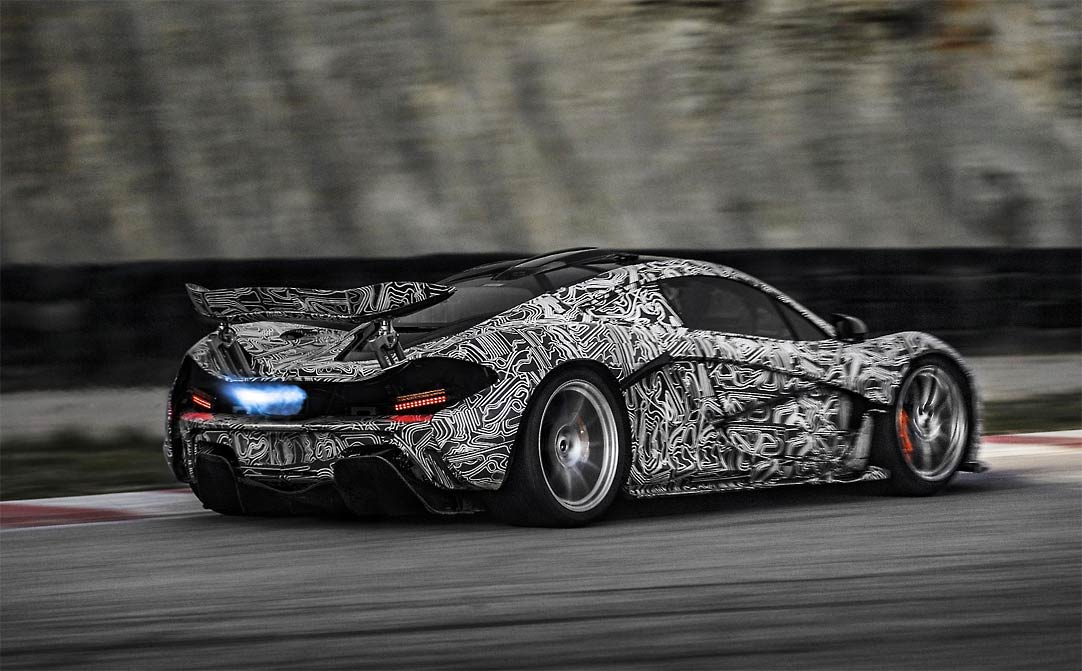 McLaren P1 XP G1 McLaren P1 takes to the track (w/VIDEO)