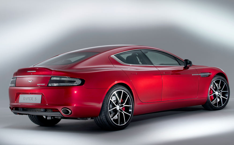 Rapide S 17 Aston Martin ups the ante with a new 550bhp Rapide S (w/VIDEO)