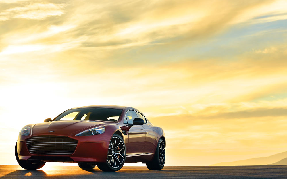 Rapide S 20 Aston Martin ups the ante with a new 550bhp Rapide S (w/VIDEO)