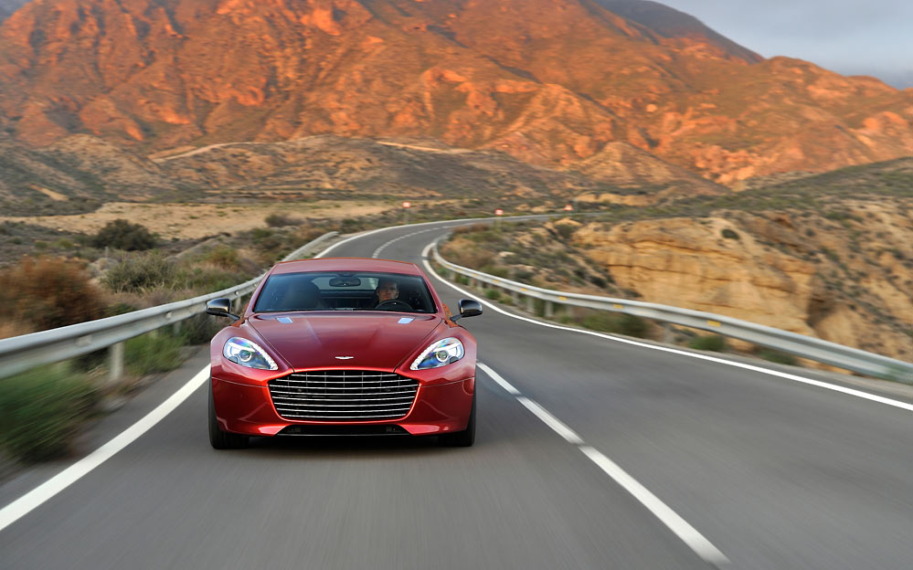 Rapide S 22 Aston Martin ups the ante with a new 550bhp Rapide S (w/VIDEO)