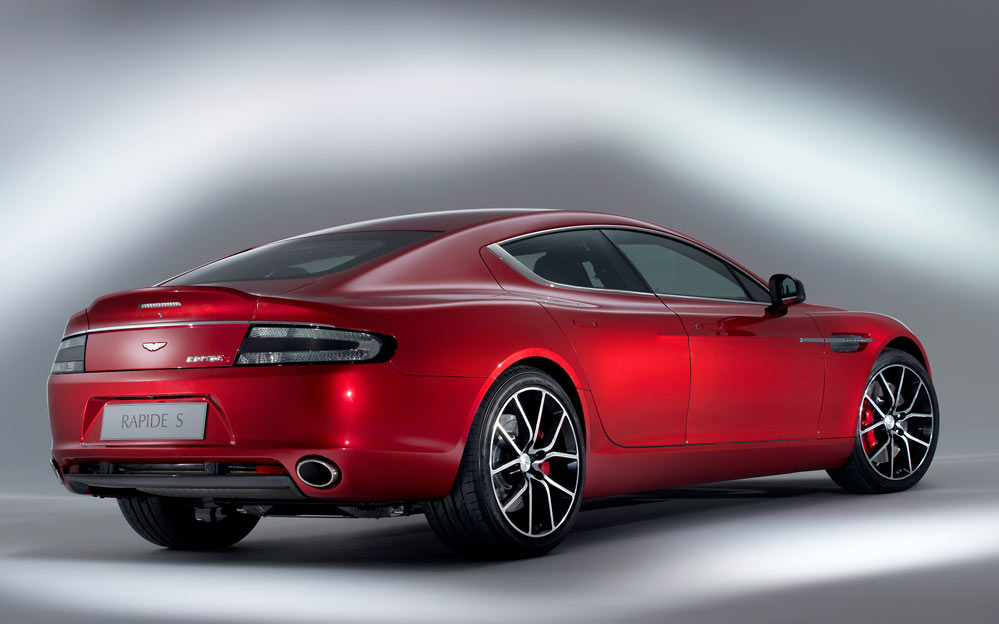 Rapide S 3 Aston Martin ups the ante with a new 550bhp Rapide S (w/VIDEO)