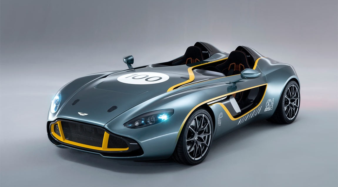 Aston Martin goes back to the future with its CC100 Speedster Concept (w/VIDEO)