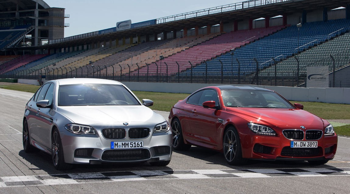 BMW releases a 567bhp Competition Package M5 and M6