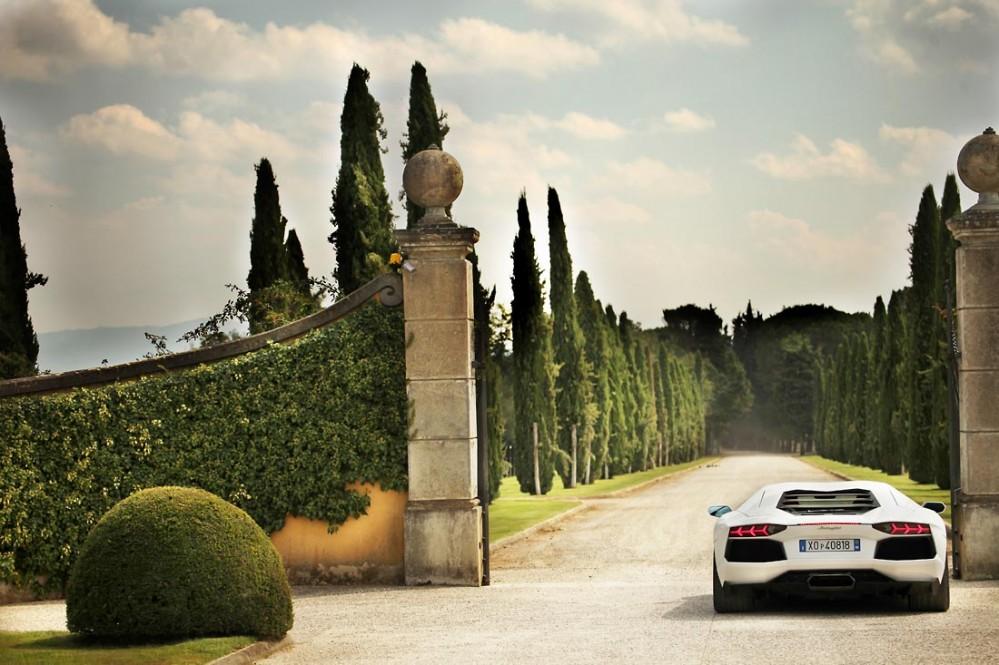 Lamborghini Aventador on the 50° Anniversario 'Grande Giro'