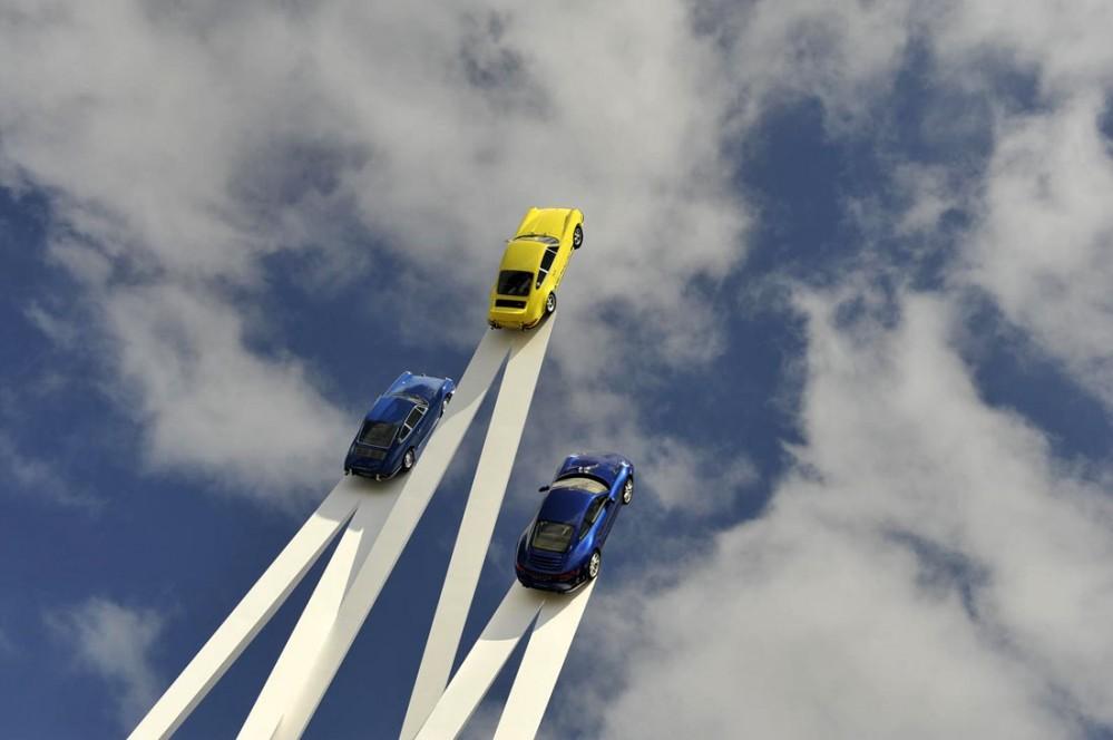 Goodwood-FoS-2013-Porsche-911-Sculpture