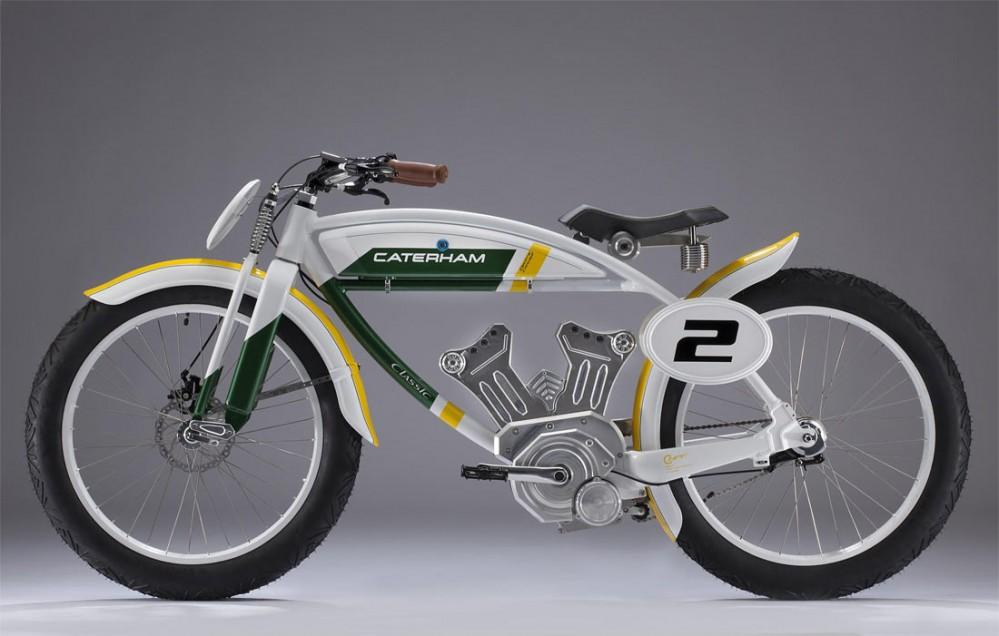 Quand Caterham se lance dans la moto Caterham-Classic-E-Bike_G2-999x636